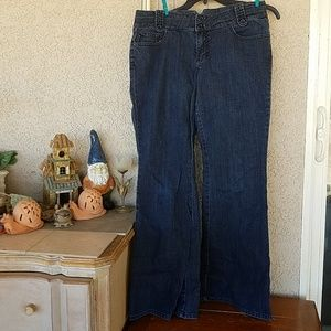 A.N.A. Modern Flare Low Rise Jeans sz 12